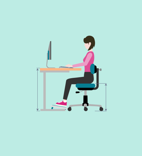 Sitting at work: 10 tips to help you get it right